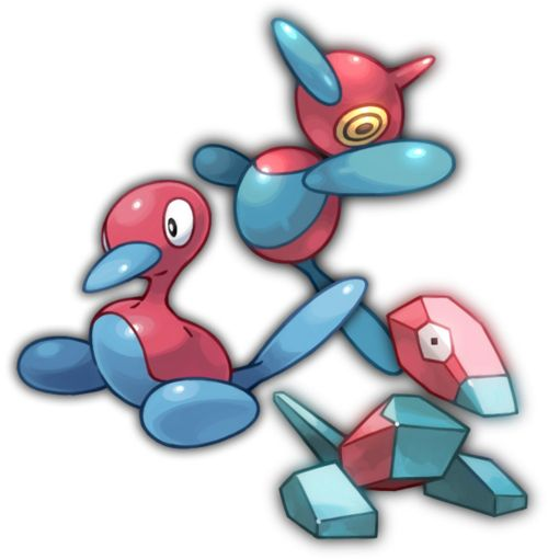 Episode #38 of the TV series only aired once in Japan after it caused over 700 children to have seizures due a scene that involves Ash's Pikachu doing an electric attack while on top of a Porygon. Ever since the incident, Porygon (or any of it's evolutions) has not been seen in the show ever since, even though the Porygon character in episode #38 was not the cause of the seizure-inducing scene.