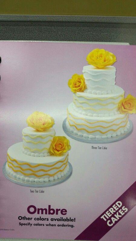 sams club cake shower ombre