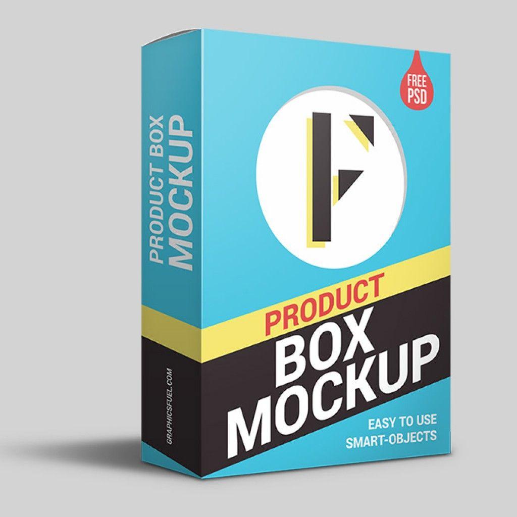 Product Packaging Box Psd Mockup Graphicsfuel Ilustrasi Karakter Ilustrasi