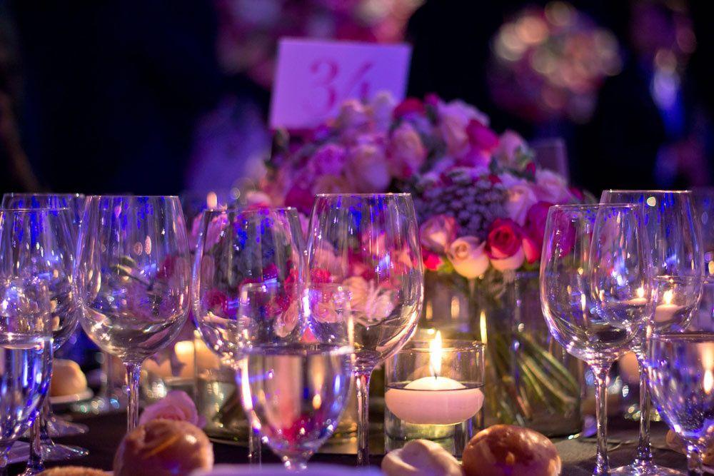 Decoración fiesta Glamour 15 años