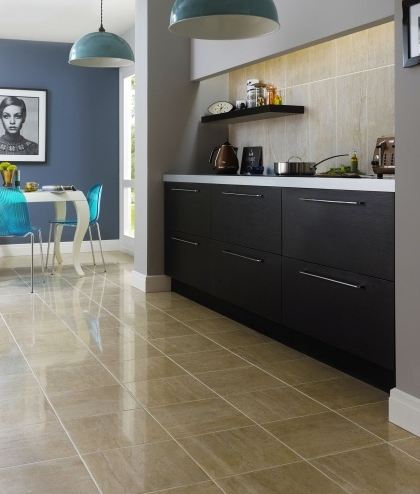 parallel dark beige floor gloss finish digitally printed white