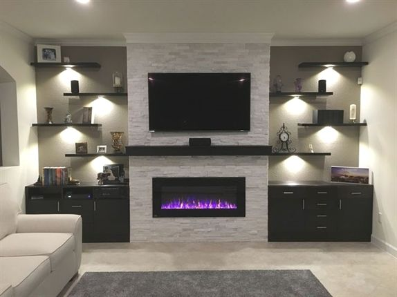In 2021 Living Room With Fireplace Trendy Living Rooms Living Room Tv Wall