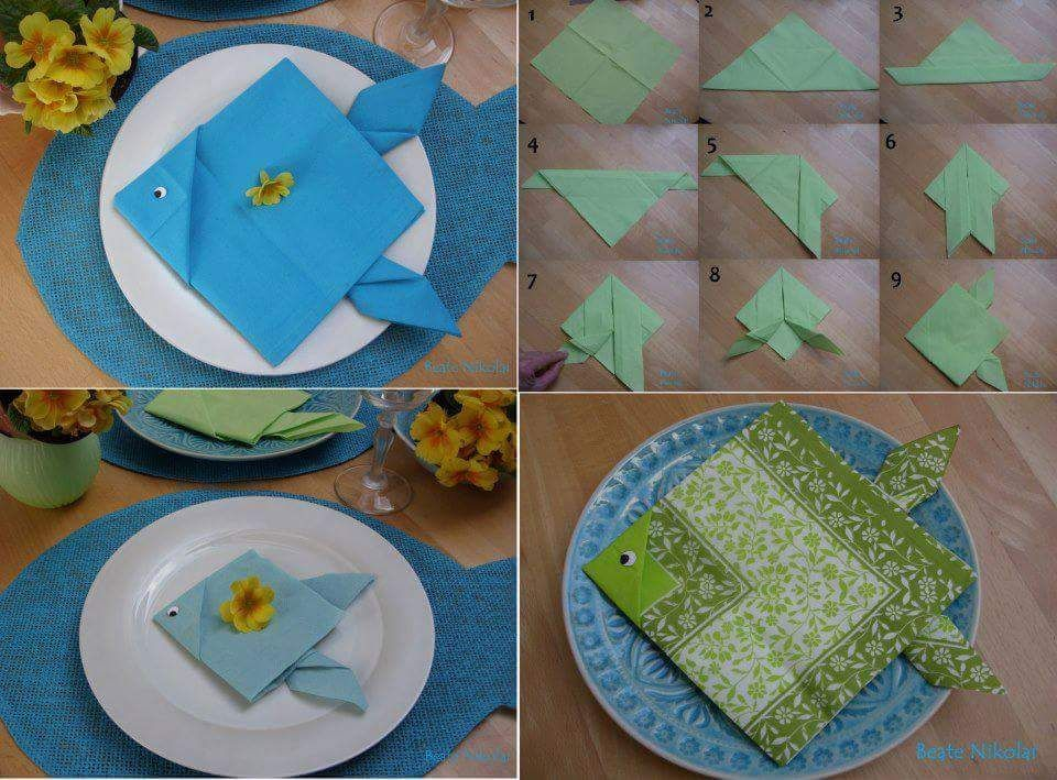 46 Lovely Napkin Folding Ideas To Impress Your Guests