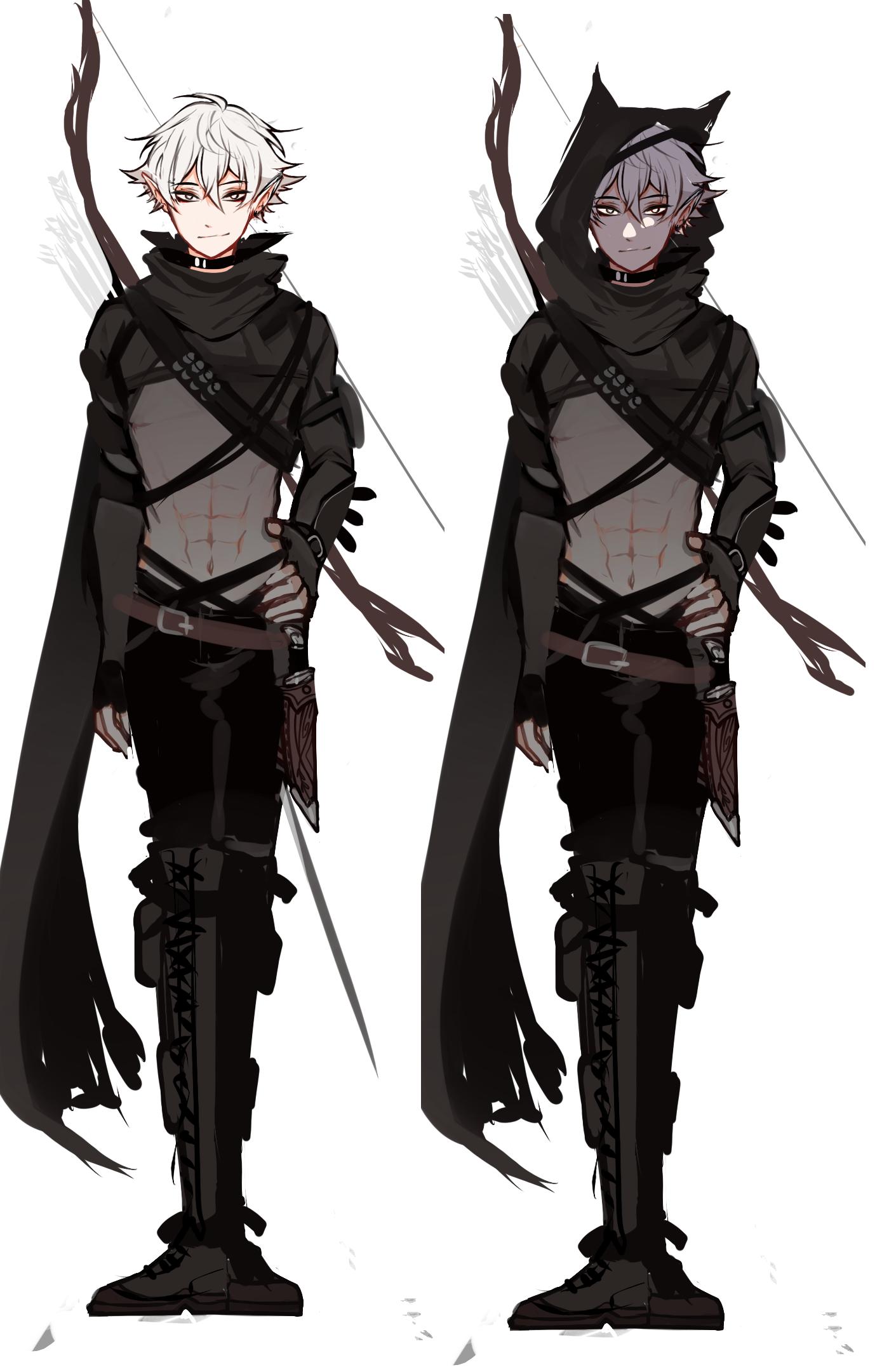 Photo of Elf assassin design