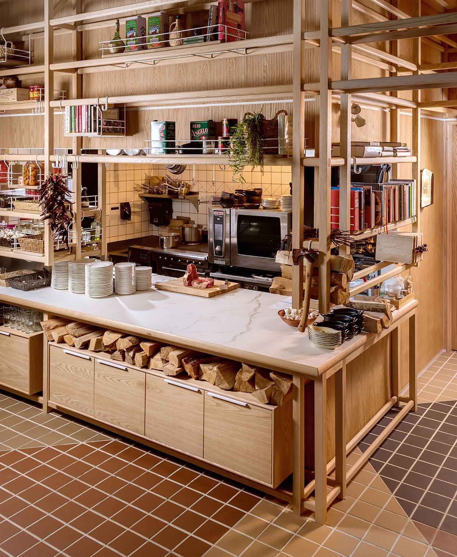 Restaurant Kitchen Pass: Osteria Savio Volpe By Ste Marie Design