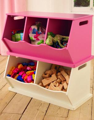Triple Stacking Storage Boxes