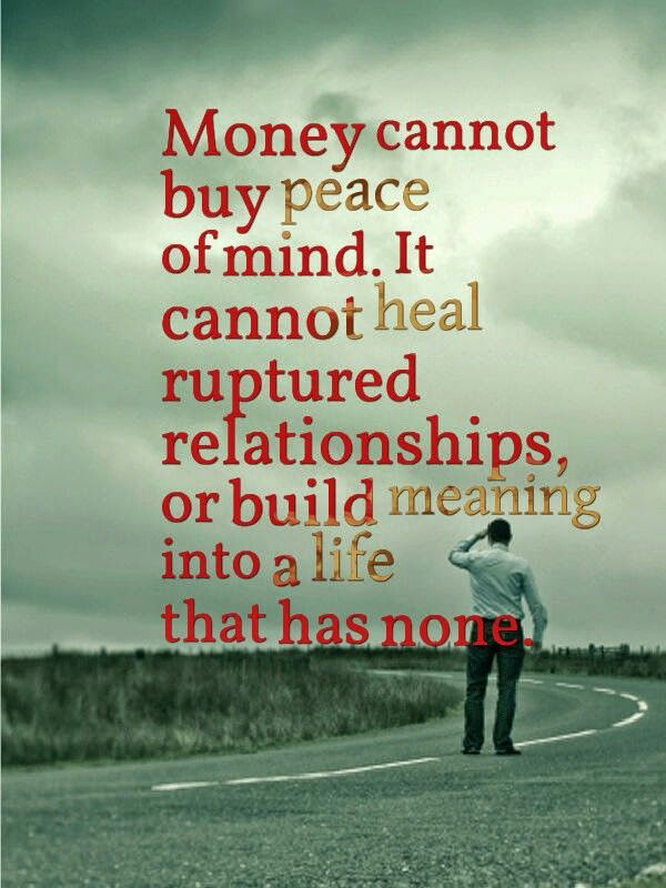 Money Isnt Everything Quotes And More Pinterest Life Lessons