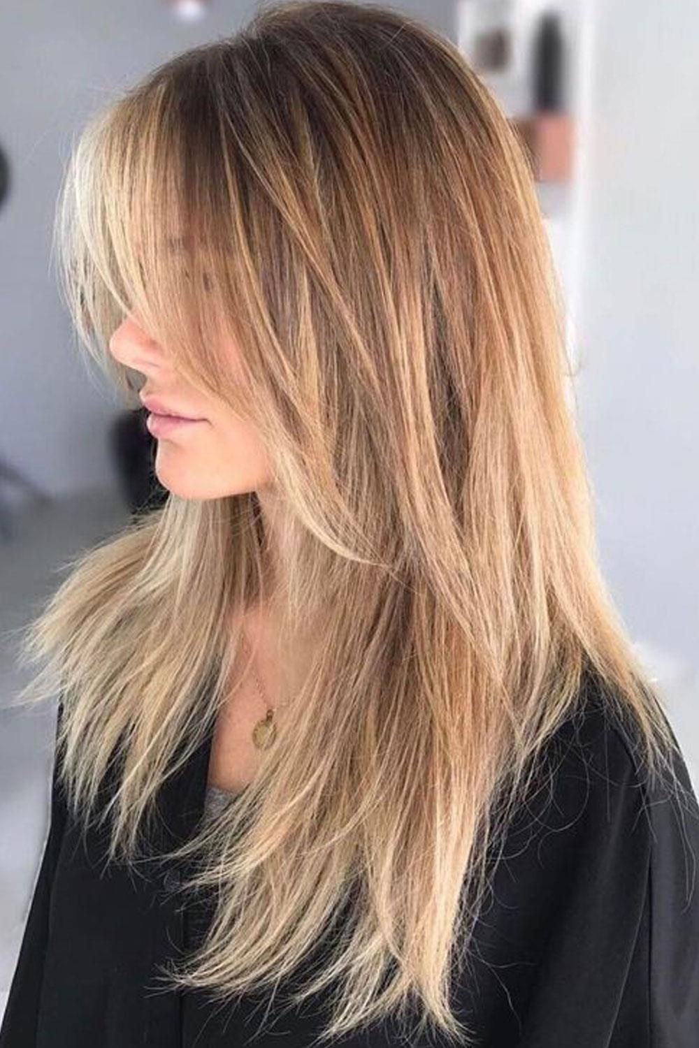 2019 LONG LAYERED HAIRSTYLES: BEAUTIFUL HAIRSTYLES,SO THAT LEAVE YOUR HAIR BREATH. #longlayeredhaircuts