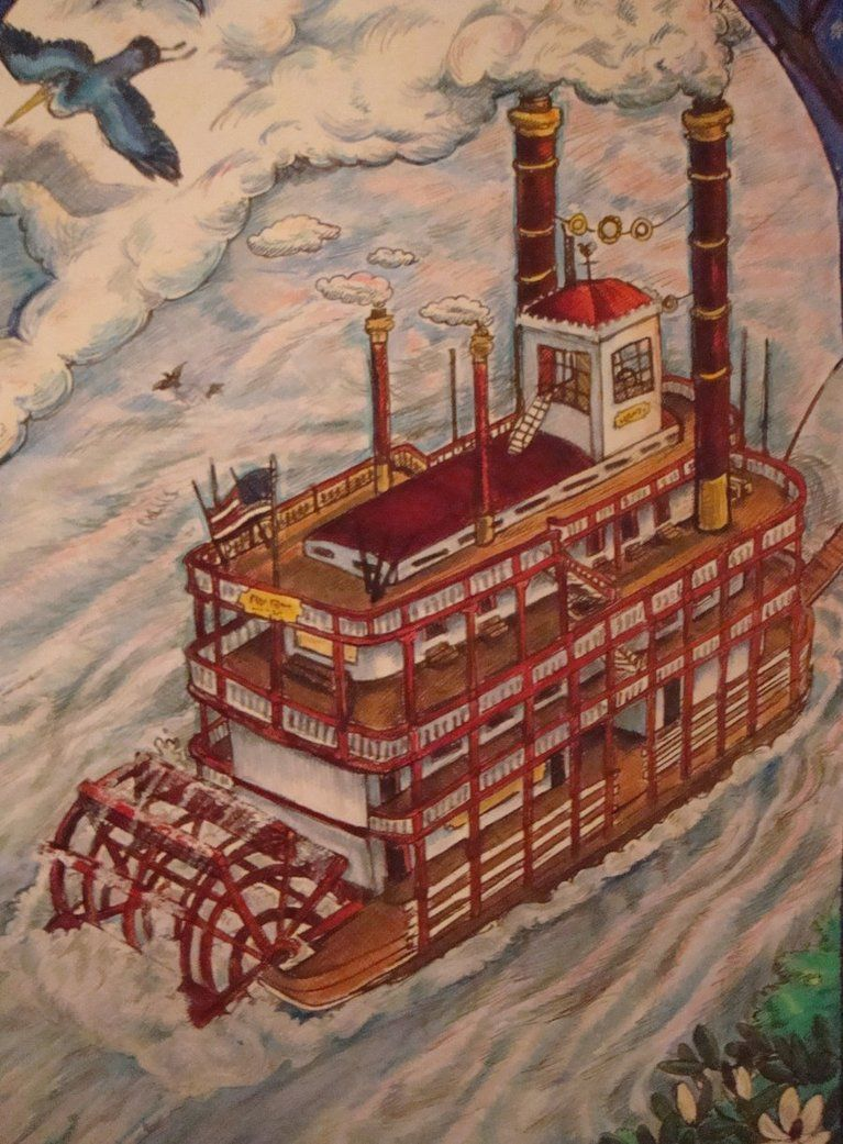 Riverboat_detail_by_RedClayHalo.jpg (767×1041)
