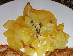 Les receptes que m'agraden: Patates panadera al microones (8 minuts!) - Patata panadera al microondas ( 8 minutos!!)