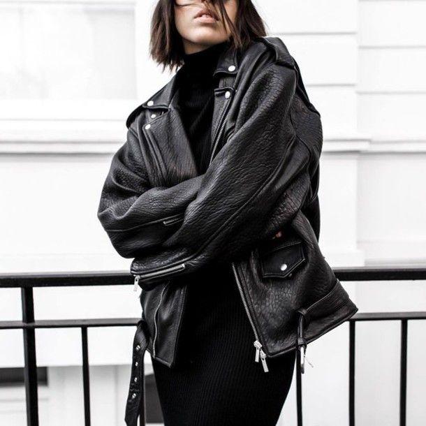 Imagini pentru tumblr leather jacket