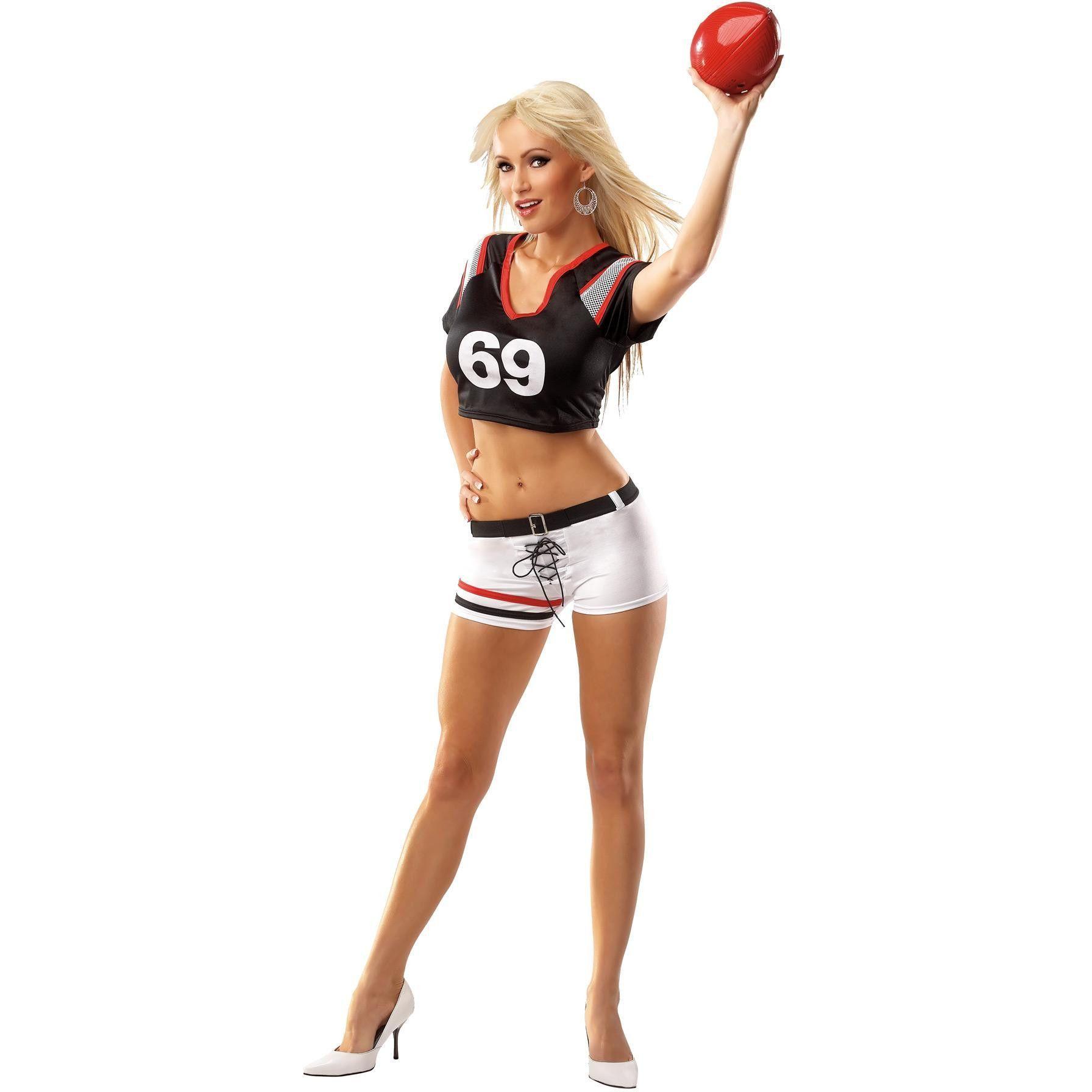 Sexy football halloween costume-9900