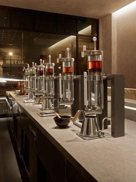 edcf2bf1a Modern Tea Shop in San Francisco | Business Ideas | Tea lounge, Tea ...