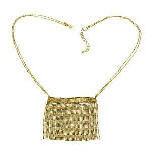 Bijou pour femmes - Collier fantaisie doré - Idée cadeau: ShalinCraft: Amazon.fr: Bijoux