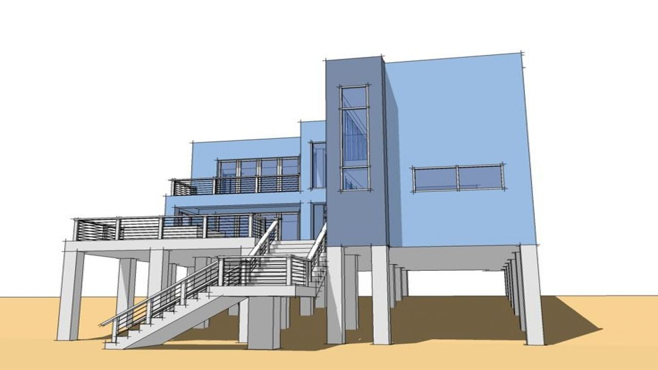 Waterfront house plans stilts ideas pictures remodel and decor further florida homes