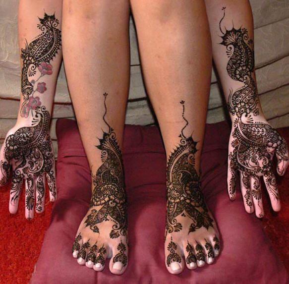 Indian Hand Tattoos For Women Indian Hand Tattoo Henna Beautiful