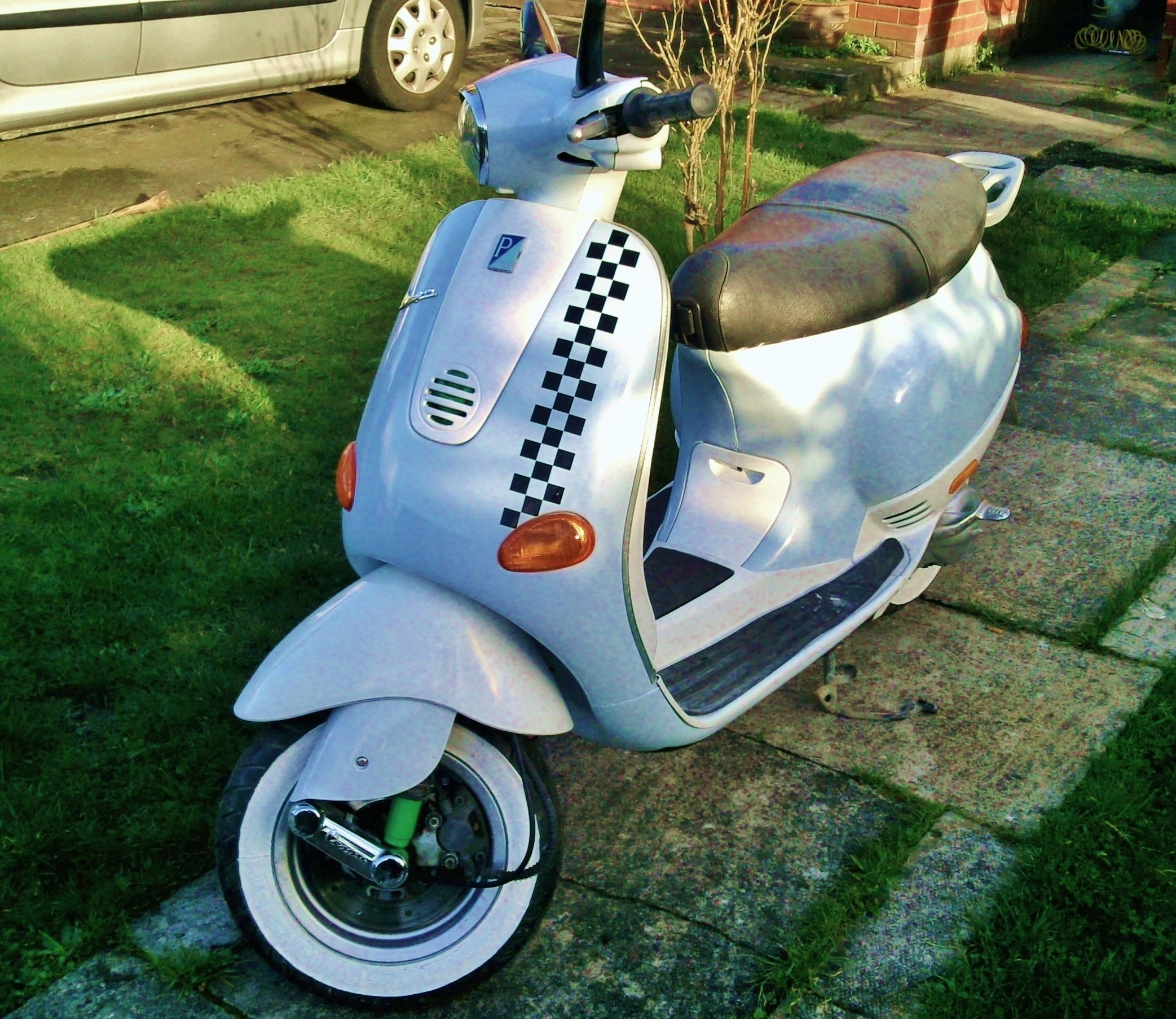 Et2 50cc light blue and white 750 bournemouth