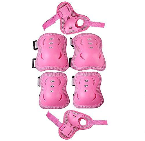 Eruner Children S Roller Blading Knee Pads 6 Pcs Knee Wrist