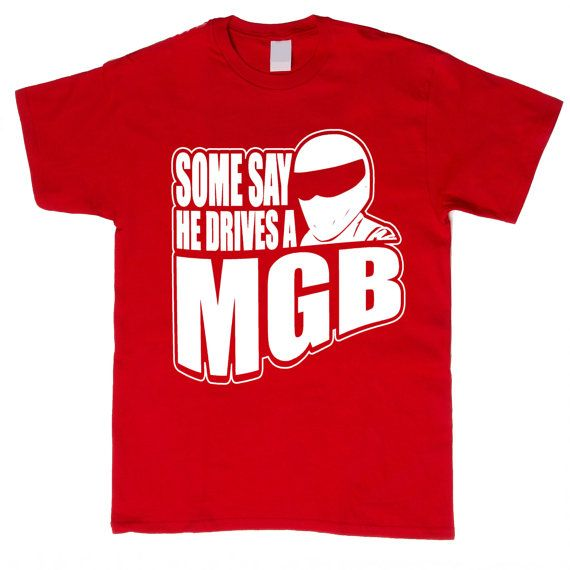Classic MGB Car Funny TShirt Men Size Small by CandyClubClothing, £11.62