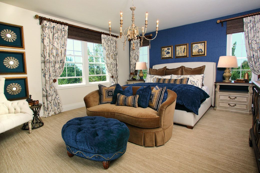 Best Designed By Rejoy Interiors Blue And Carmel Master Suite 400 x 300