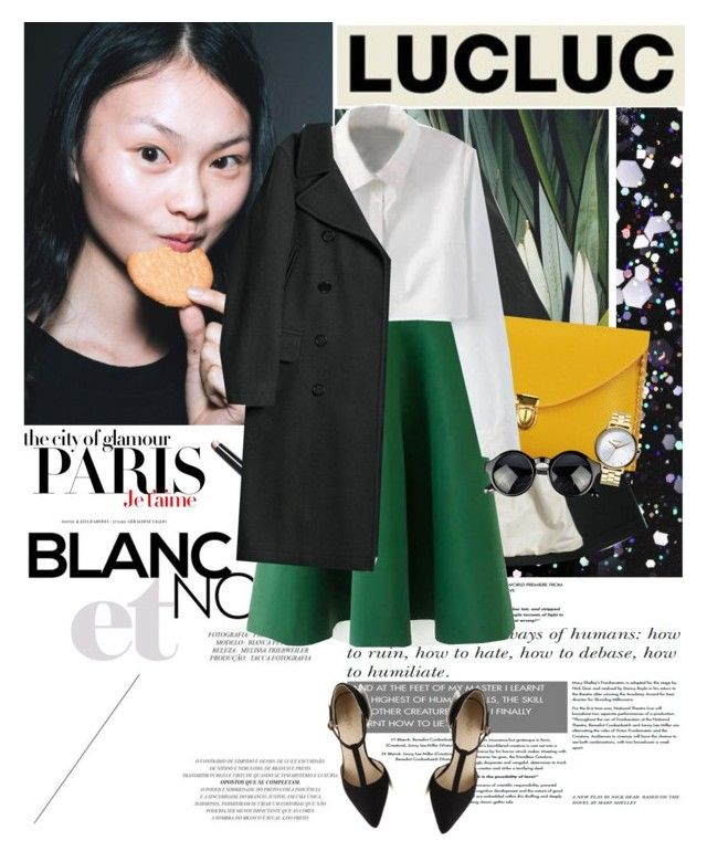 """""""Lucluc #4"""" by i-do-have-a-ch0ice-fash10n ❤ liked on Polyvore featuring H&M, Bobbi Brown Cosmetics, Nixon and lucluc"""