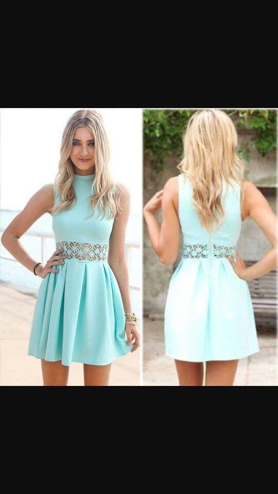 Imagenes de vestidos verdes cortos