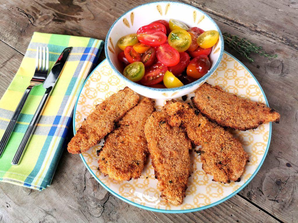 Una forma diferente de conseguir un pollo rebozado, rico y crujiente, pero en el…