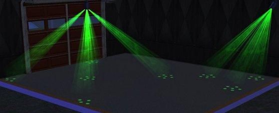 Mod The Sims Dance Projector Lights Various Colors Shapes Lights Sims Color Shapes