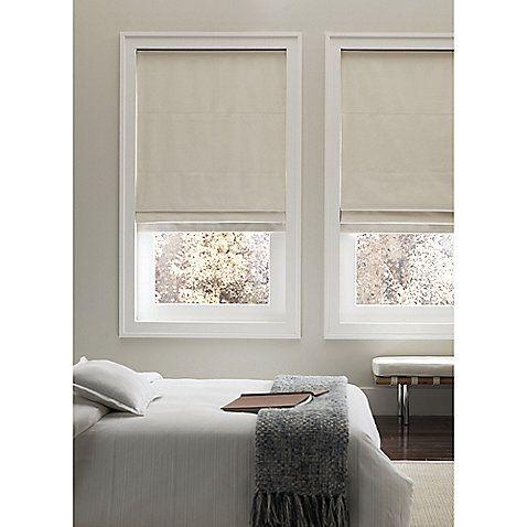 Real Simple Cordless Fabric Roman Shades 169