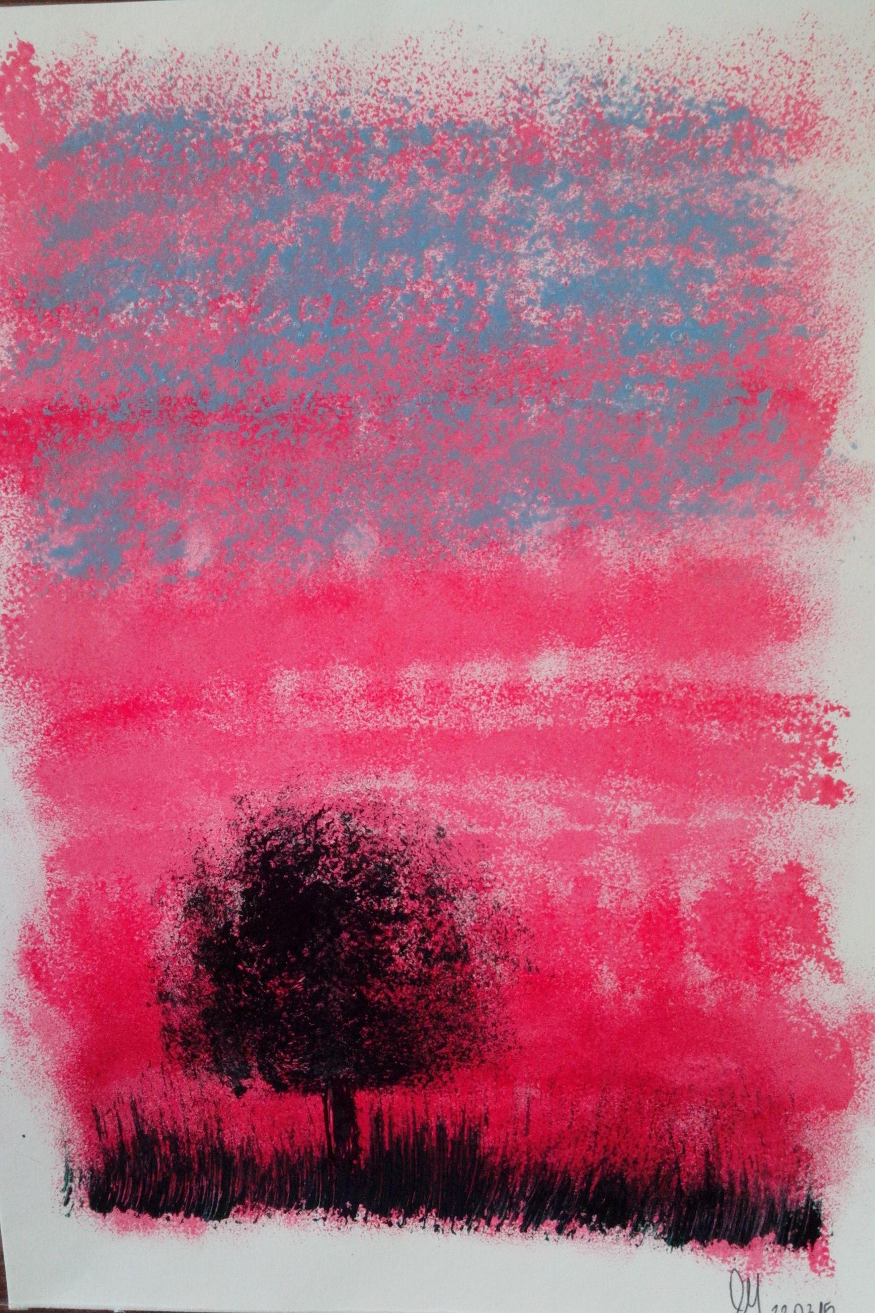 Tarde rosa -  Gabriela Monteiro