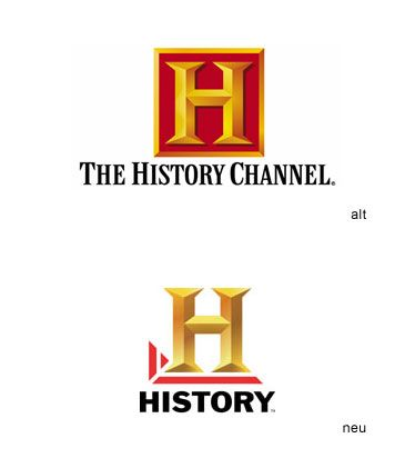 this is the logo for the history channel. the old logo makes it