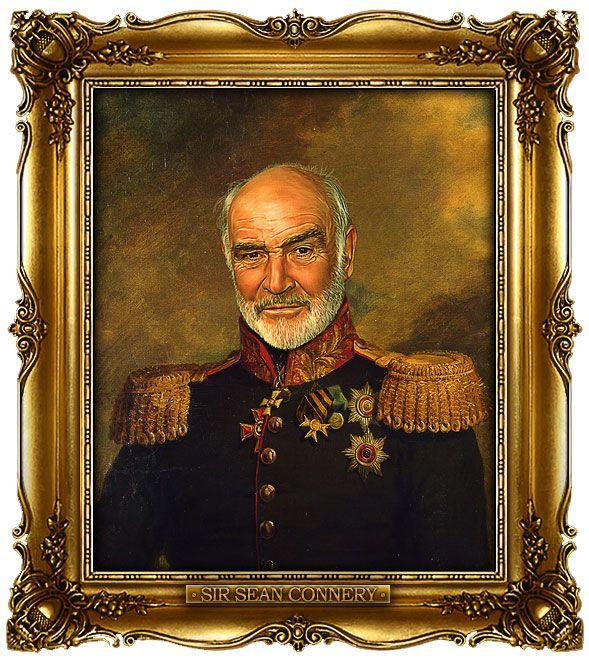 23 Celebrities Gloriously Painted As Russian Generals By George Dawe