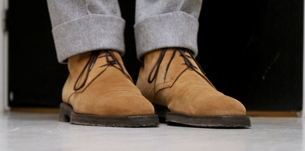 Clarks Desert Boot Mens Brown Suede Casual Dress Lace Up Chukkas Shoes