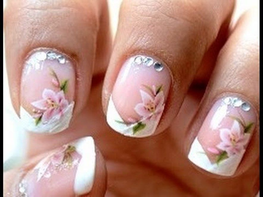 French Nails Art | French Nails Designs | Pinterest | French nails