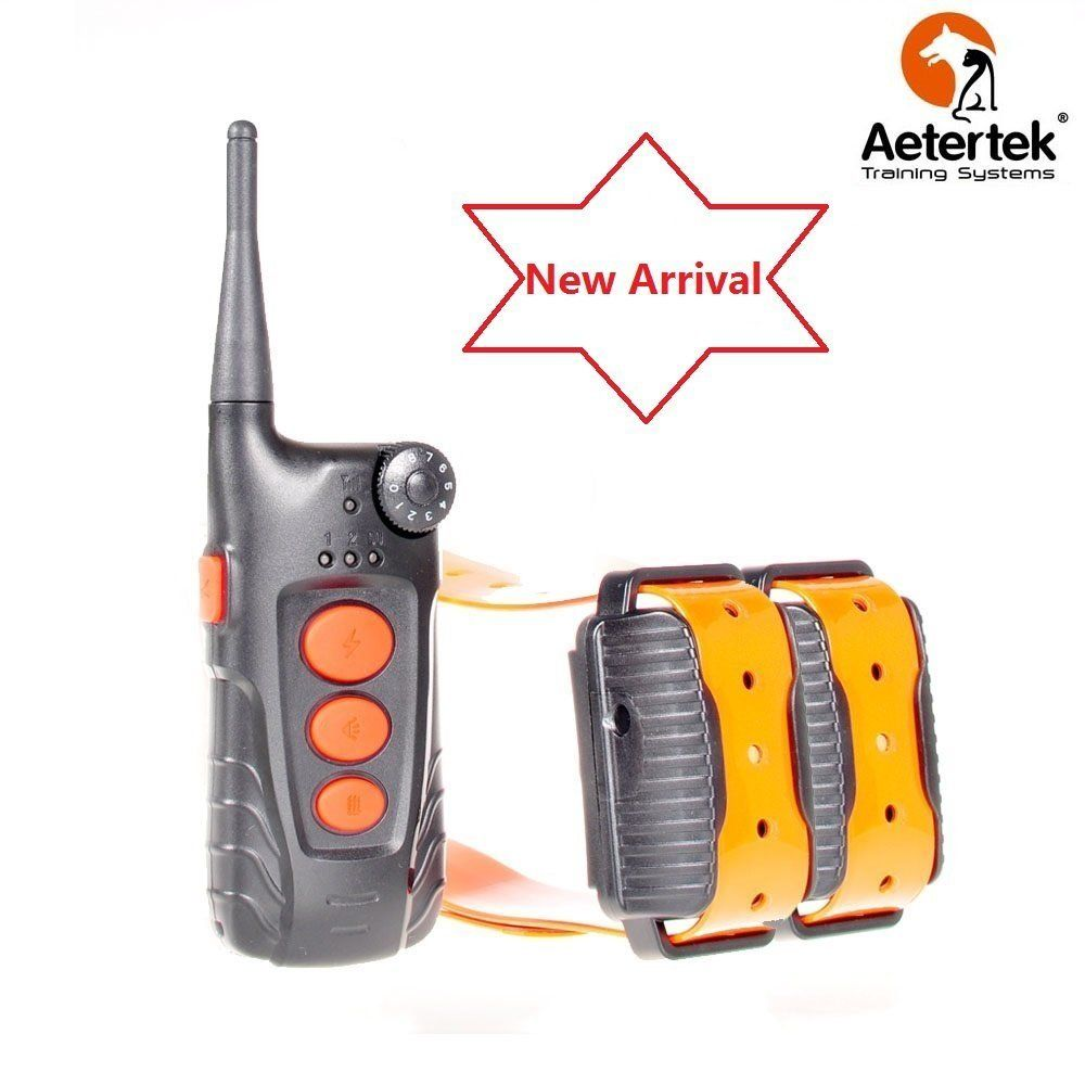 New Arrival Aetertek At-918c 100% Waterproof Remote 550m/600 Yard Training Collar Auto Anti Bark Function 9 Level Shock Collar Rechargeable >>> Check this awesome product by going to the link at the image. (This is an affiliate link and I receive a commission for the sales) #DogTrainingAids