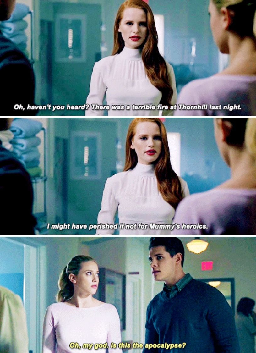 Riverdale 2x01 - Is that your Mom? What happened?