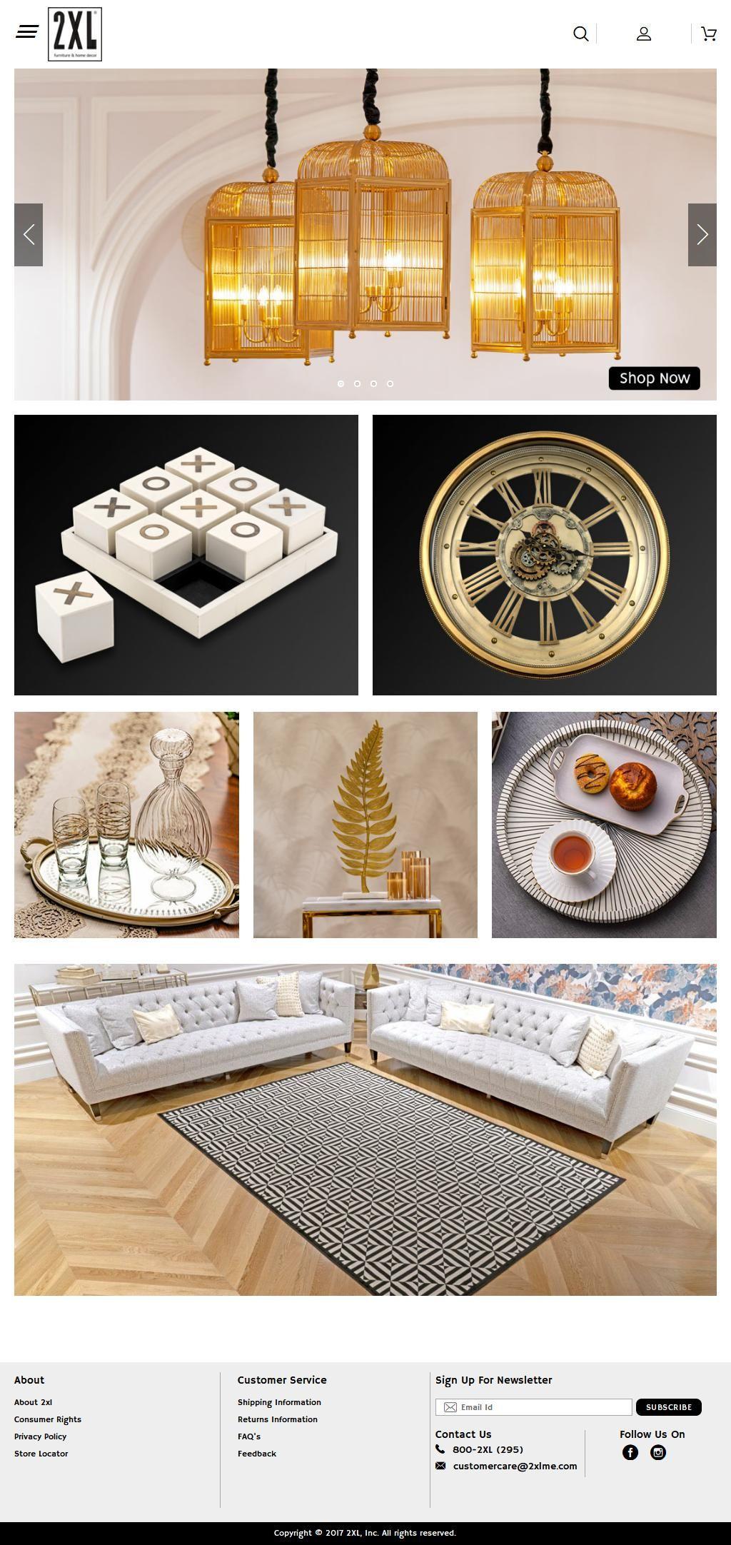 2xl Furniture Home Decor Showroom Al Ghurair Centre 3 Al Rigga