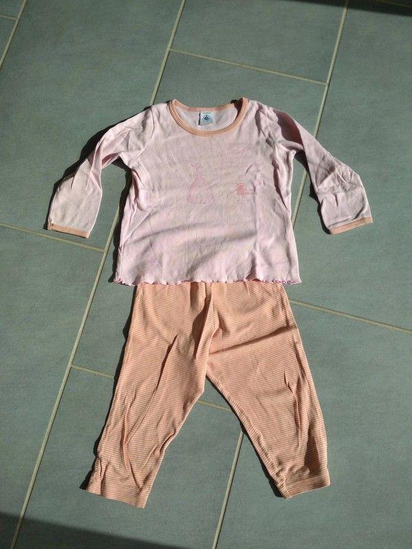 45250b0fbf0b5 Pyjama petit bateau 2 ans fille