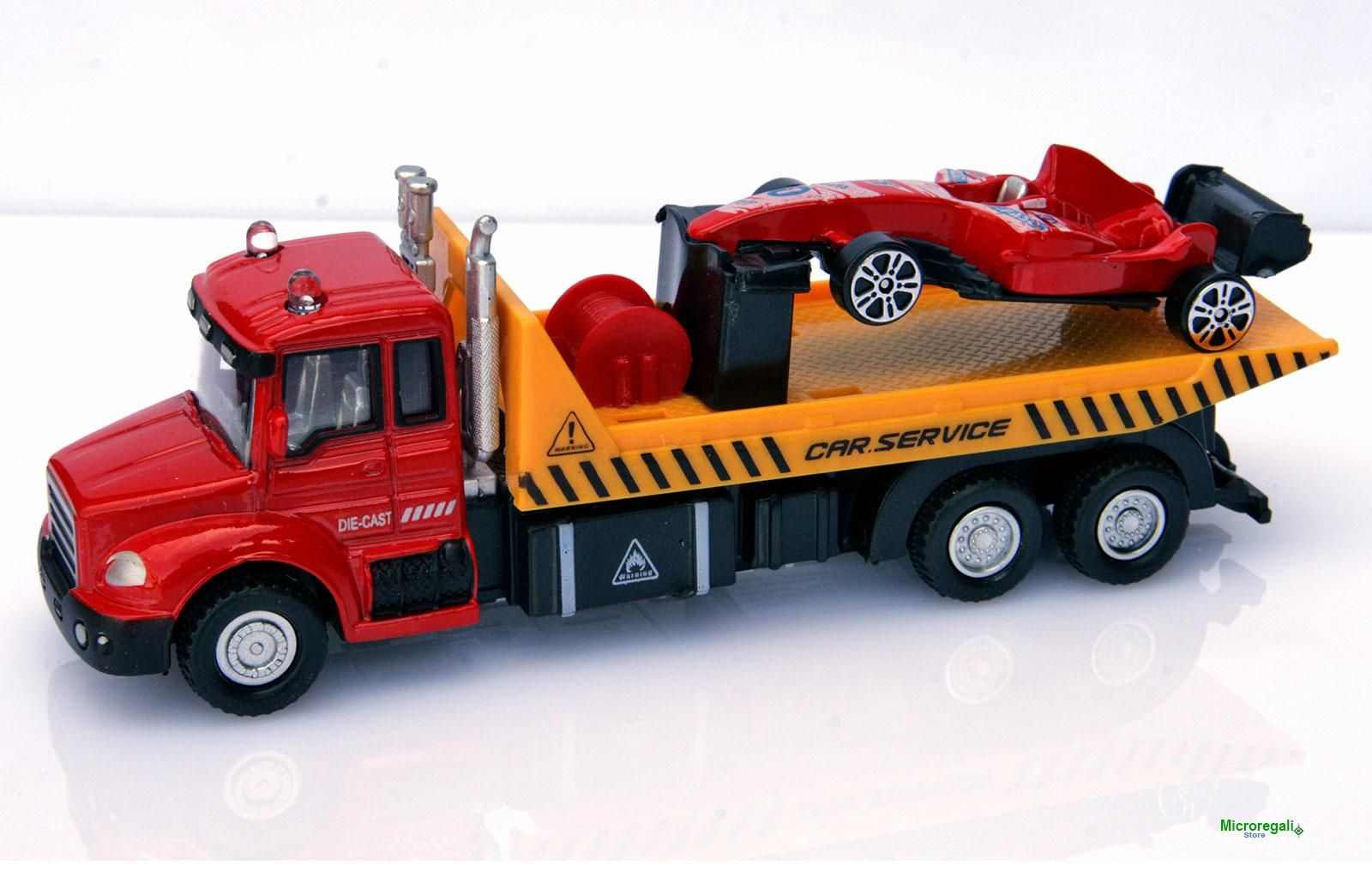 Elicottero Hot Wheels : Camion soccorso con elicottero metallo die cast cm