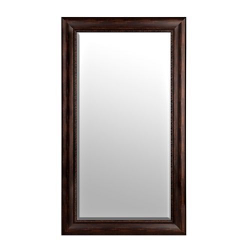 Detailed Bronze Framed Mirror, 32x56 in. | Kirklands