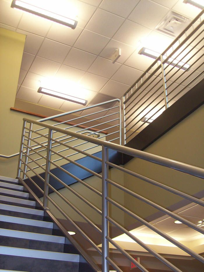 Architectural Stair Railings #stairs Pinned by www.modlar ...