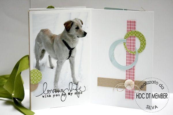"Hobby di Carta - Il blog: MINI ALBUM: ""my Dogs"" by Silva"