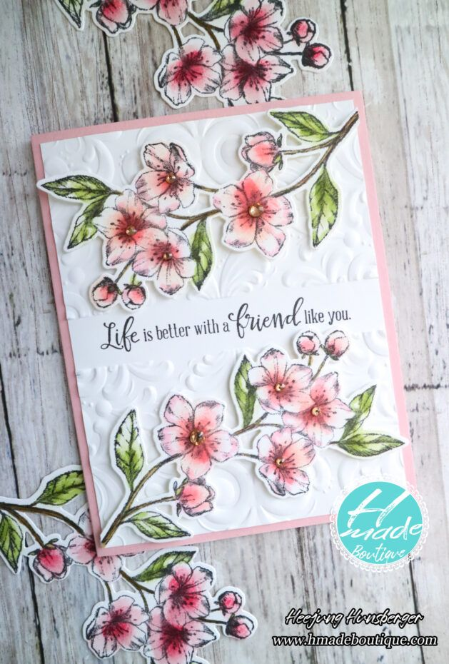 Cherry Blossoms Card with Forever Blossoms Bundle