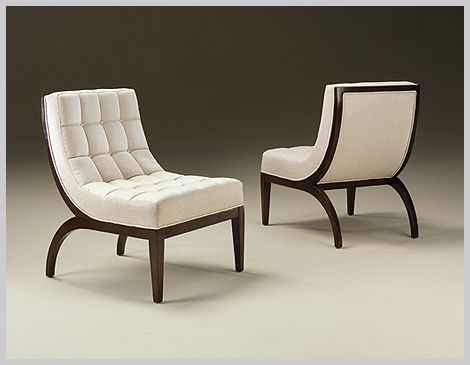 Slip Chairs By Guy Hill Thayer Coggin