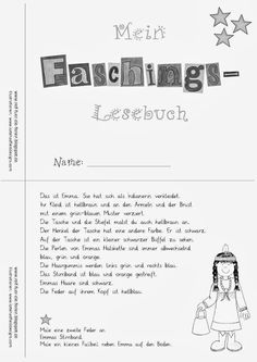 Faschings-Lesemini - schwer