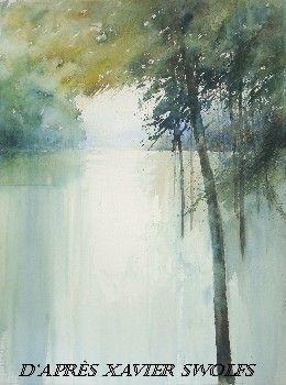 Xavier Swolfs Watercolour Cerca Amb Google Peinture Aquarelle