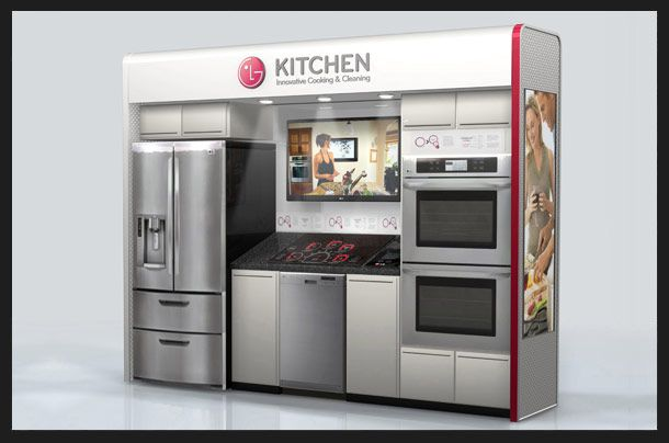 Lg Kitchen Appliances Home Depot Backsplash Display New Ideas Pinterest