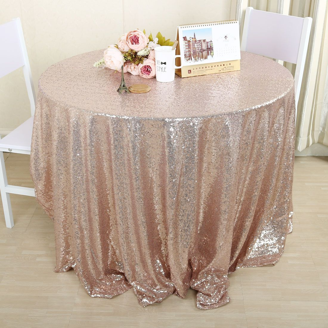 Sparkle Sequin Tablecloth Table Cloth Cover for Banquet Wedding Party Decor 26b1af8d8620