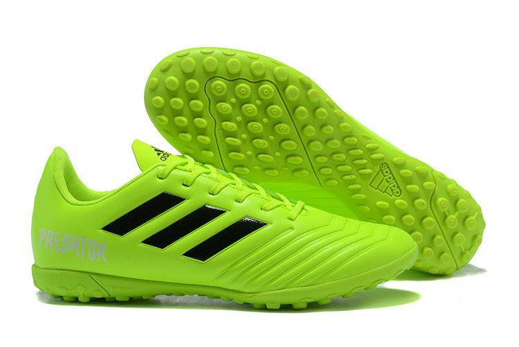 782d6c996102 Men Adidas Predator Tango 18 4 TF 2018 Word Cup Football TraIN 2018 Word  Cupers Green Black