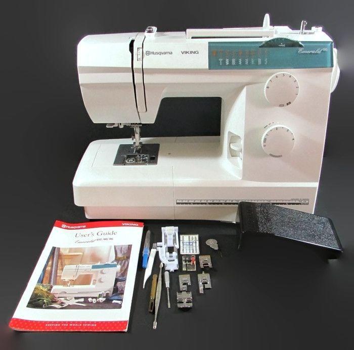 Husqvarna Viking Emerald 40 Mechanical Sewing Machine W Cover Best Viking Mechanical Sewing Machine